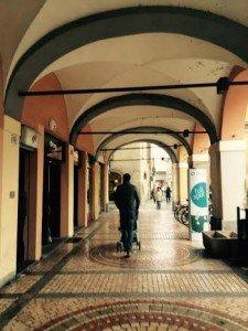 Papà e Michele a Piacenza
