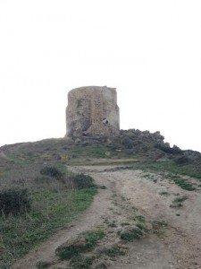 Penisola del Sinis. Torre di San Giovanni
