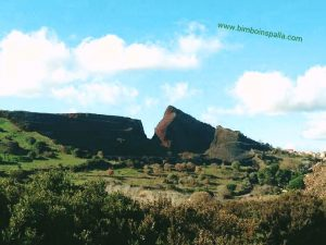 Ittireddu vulcano Sardegna