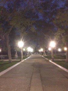 Viale centrale dei Giardini Pubblici