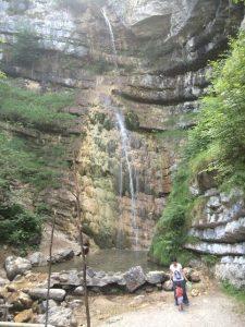 Alpe Cimbra cascate di Hofentol