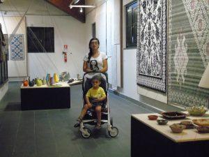Tra le creazioni esposte a Tessingiu 49° Mostra dell'Artigianato Sardo.
