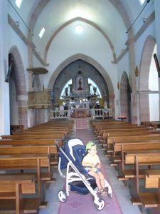 Interno della chiesa di San Sebastiano.