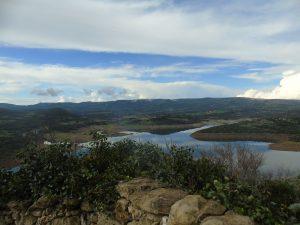 lago Temo a Monteleone Rocca Doria