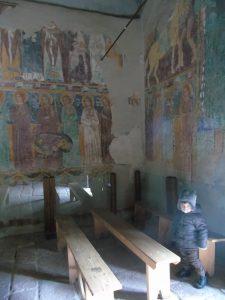 affreschi Castello di Bosa