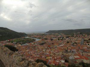 Panorama dal Castello di Bosa