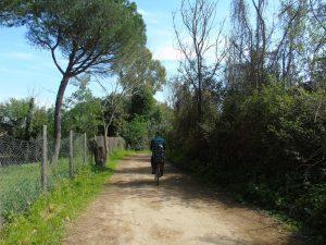 Parco Regionale dell'Appia Antica in bici