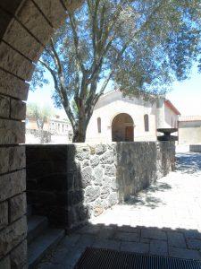 La chiesa di San Serafino a Ghilarza.