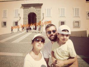 ricordi del nostro viaggio estivo Castel Gandolfo