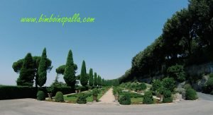 Giardino di Villa Barberini a Castel Gandolfo