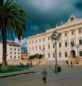 Piazza d'Italia e il centro storico di Sassari