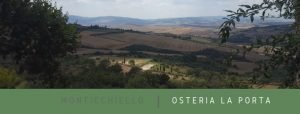 Osteria La Porta Monticchiello Toscana