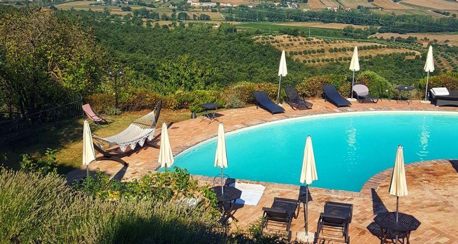 Il Cantico della Natura hotel per famiglie in Umbria