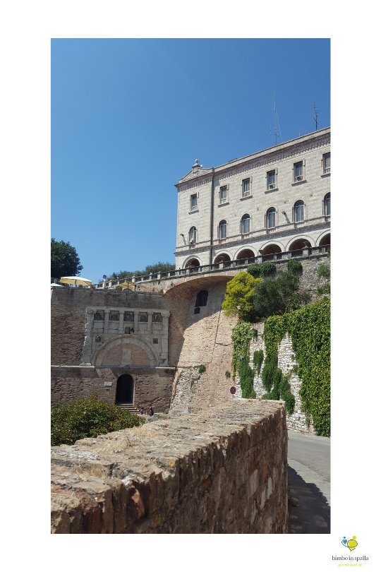 Itinerario a piedi a Perugia.