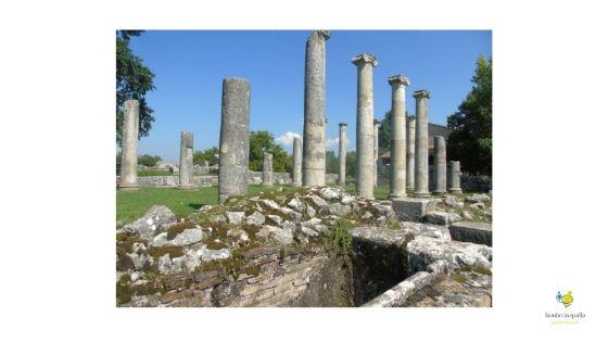 Saepinum romana archeologia Molise
