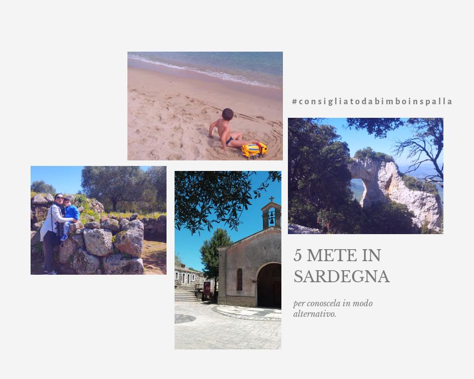 5 mete in Sardegna con bambini