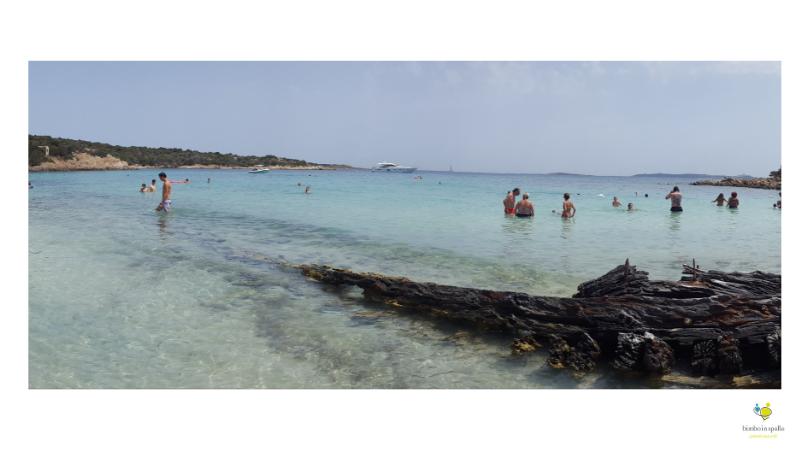 La Maddalena spiaggia del relitto