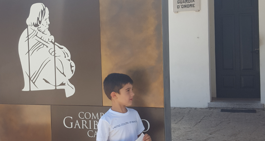 Compendio Garibaldino e la casa di Garibaldi a Caprera