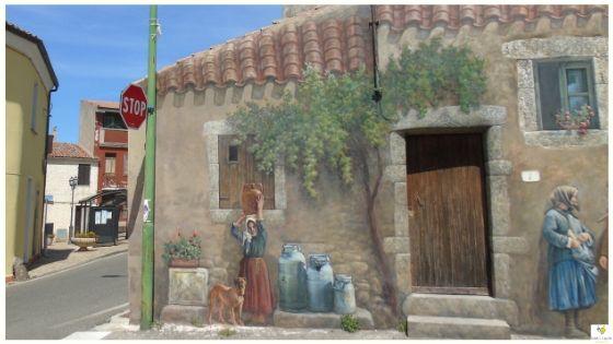 Cossoine paese Sardegna Meilogu