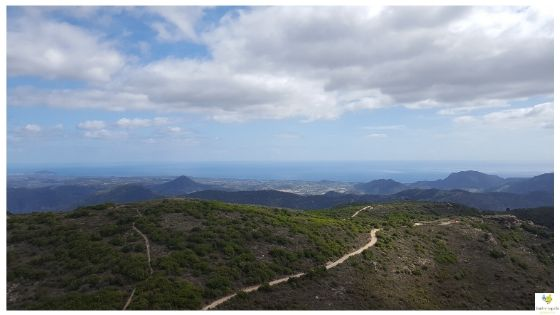 Tacchi di Jerzu escursione sentieri Sardegna