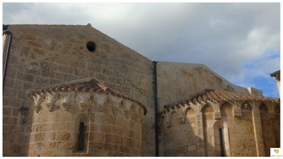 Monteleone Rocca Doria chiesa medievale di Santo Stefano Sardegna