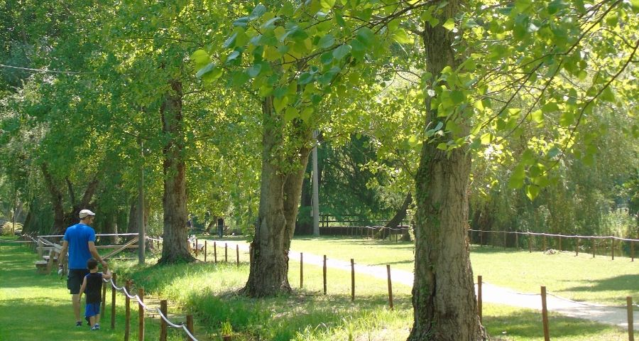 Parco Fonti del Clitunno Umbria per bambini