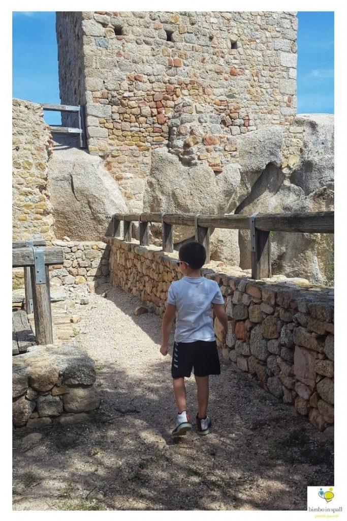 Castello di Pedres cosa fare a Olbia con bambini