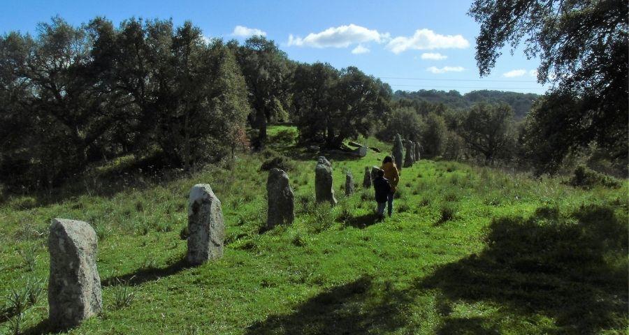parco archeologico Biru 'e Concas la Stonehenge sarda