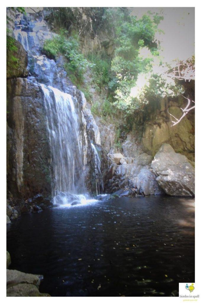 Cascata di Sos Molinos Sardegna natura
