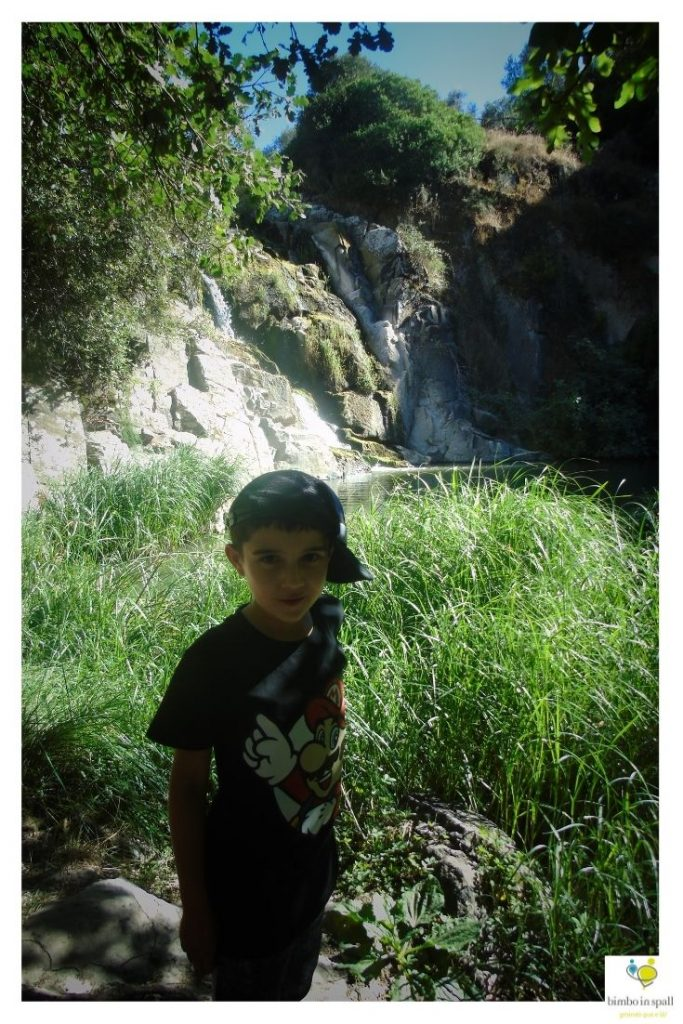 Cascata di Triulintas a Martis Sardegna natura